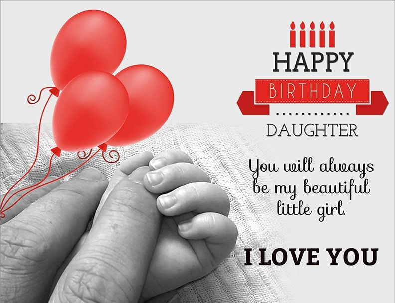 Happy Birthday Daughter Birthday Wishes Greetings Lines Sayings