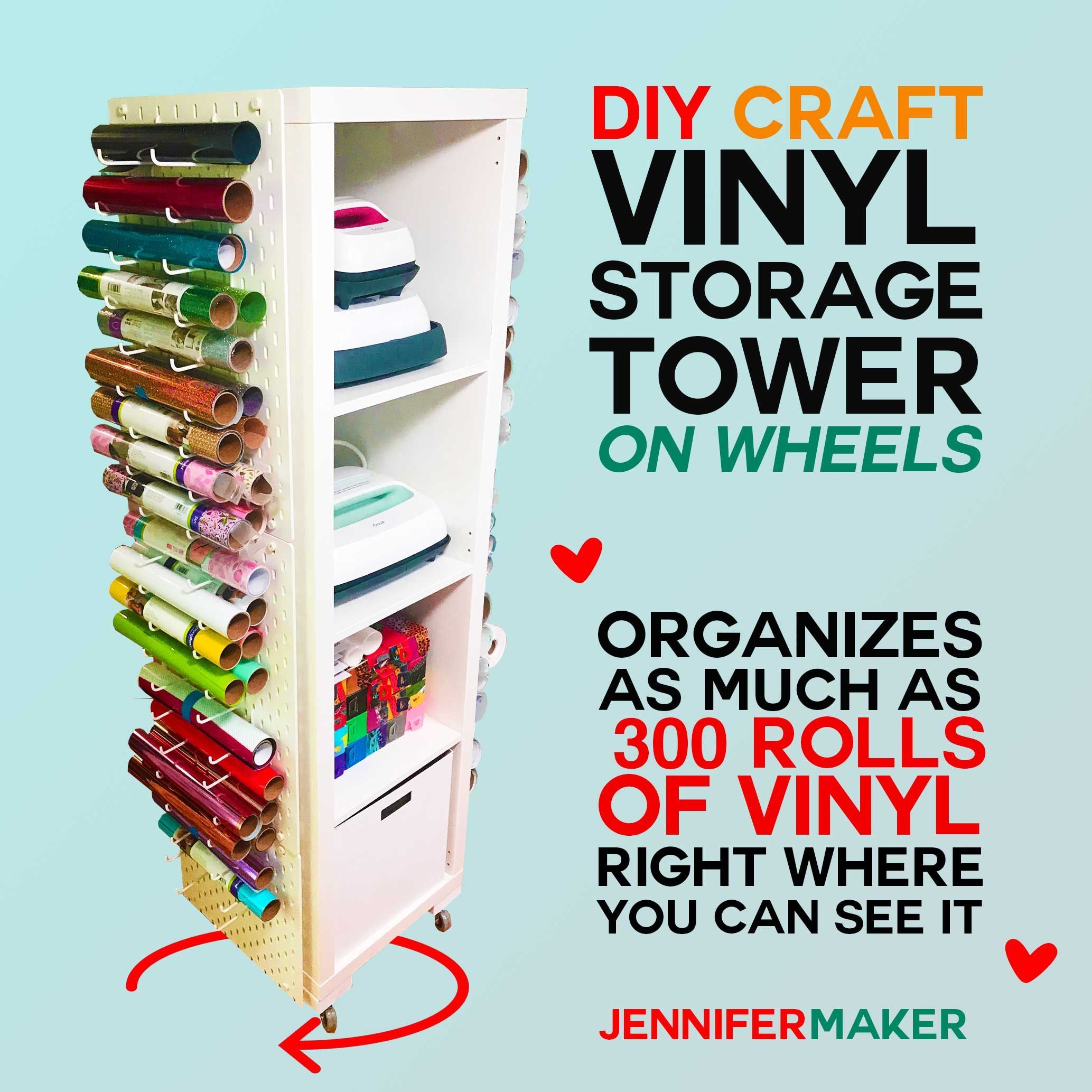 Craft Vinyl Storage Craft Vinyl Storage In 2020 Vinyl Storage Ikea Craft Room Vinyl Rolls