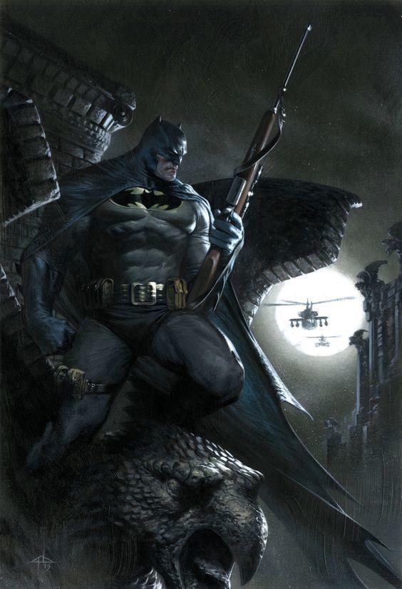 El Increible Arte De Gabrielle Dell Otto Imagenes Batman Comic
