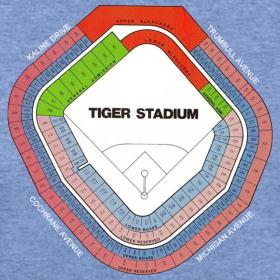 Tiger Stadium Seating Chart Downwithdetroit