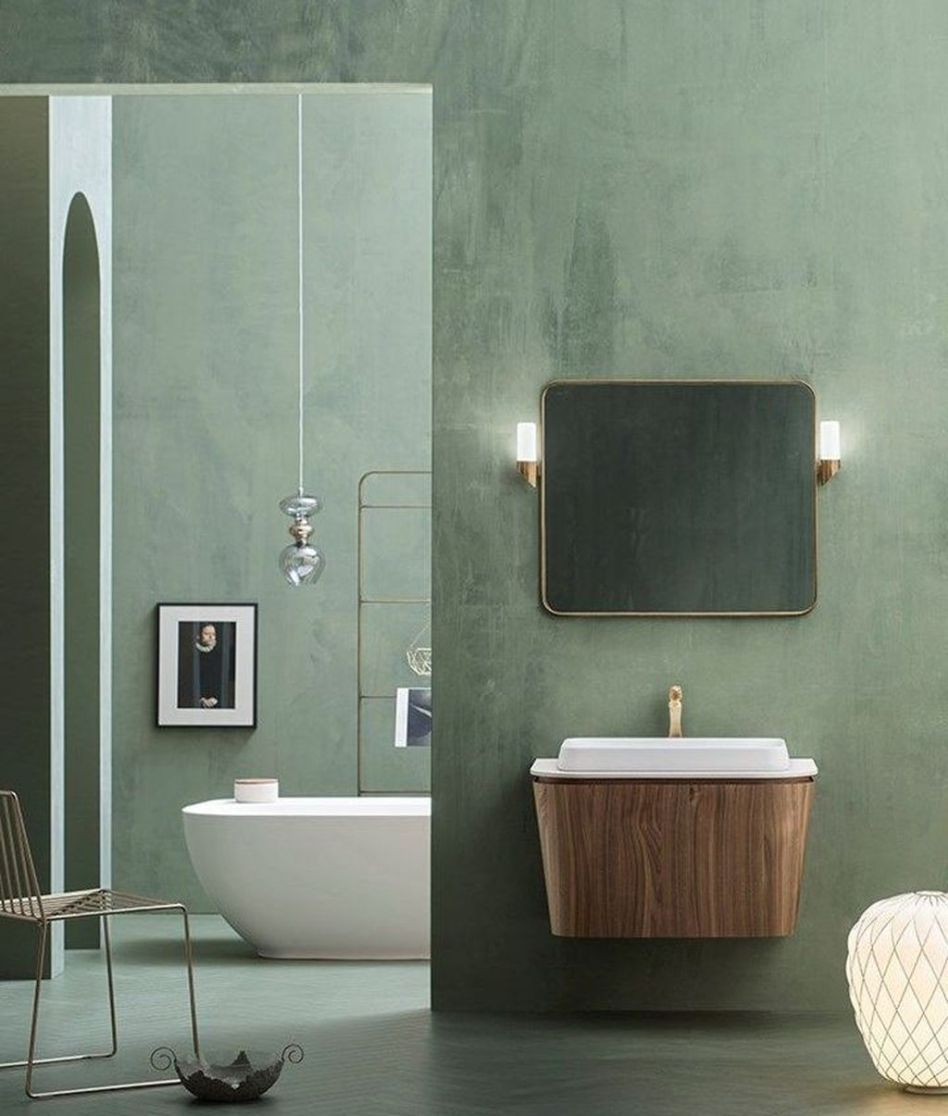 Affordable Green Bathroom Design Ideas 26 In 2019