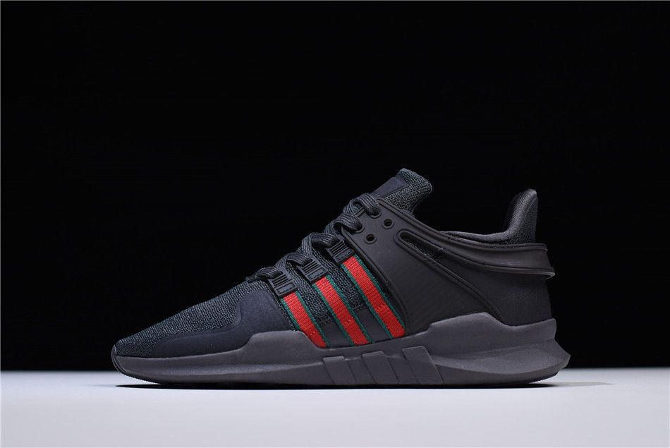 0cfd9139eb21 adidas EQT Support 93 17 Utility Black Scarlet-Collegiate Green ...