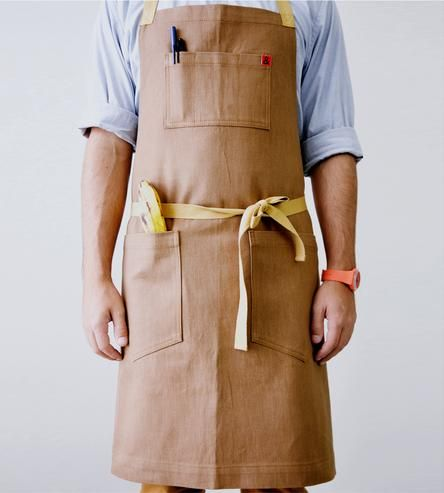 Chestnut Denim Apron by Hedley & Bennett on Scoutmob Shoppe