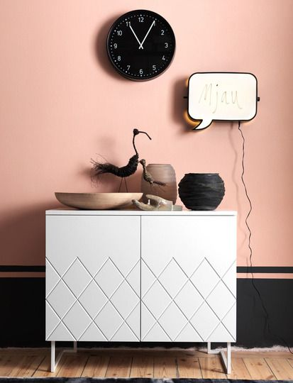 Never thought pale pink could look this edgy!