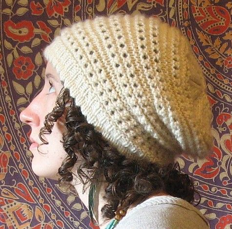 Free Knitting Pattern For Antelope Slouch Hat Slouchy Beanie
