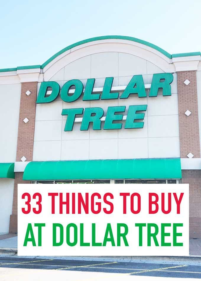 33 Things to Buy at Dollar Tree #dollarstores