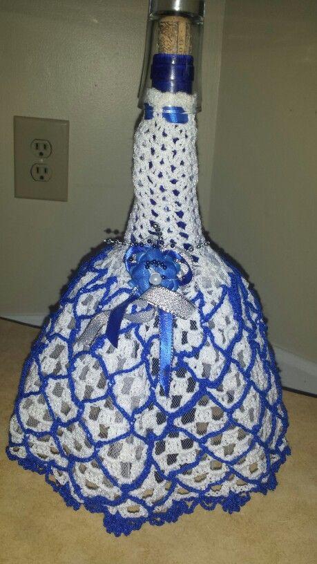 Vestido Para Botella De Vino Con Imagenes Decoracion De