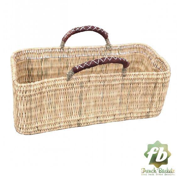 gardener wicker basket : French Basket, Moroccan Basket, straw bag ...