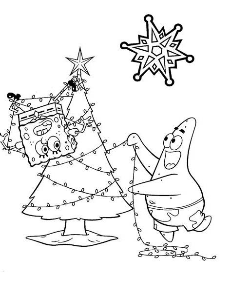 Spongebob Christmas Coloring Pages Christmas Coloring Pages Christmas Colors Spongebob Christmas