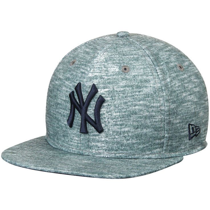 b6fc48cb7d1 New York Yankees New Era Static Clinger Original Fit 9FIFTY Adjustable Hat  - Heathered Gray