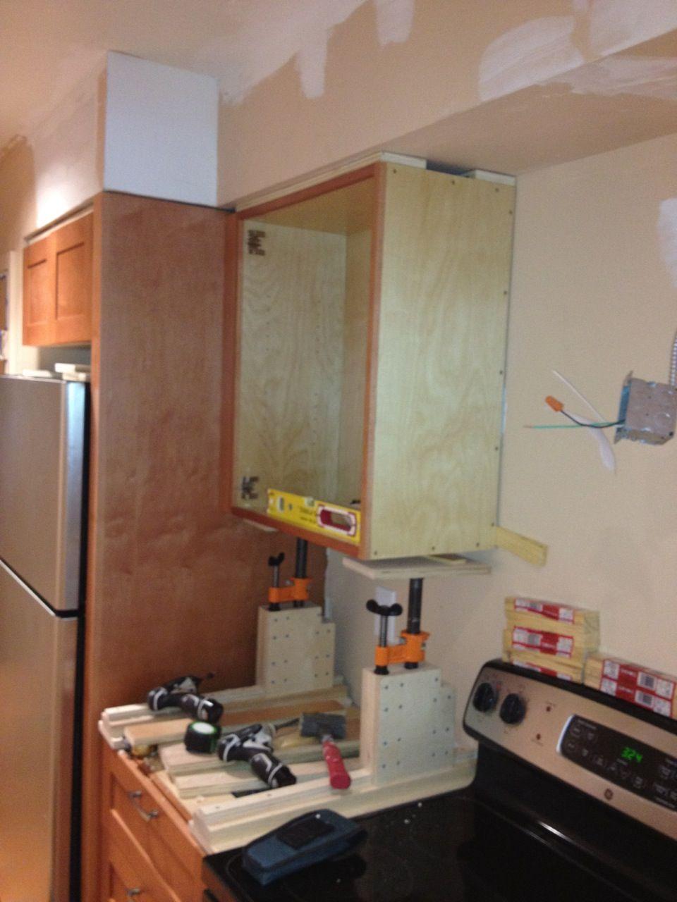 Workshop Cabinets Diy Shop Made Adjustable Cabinet Jacks Woodwebs Shop Built Forum