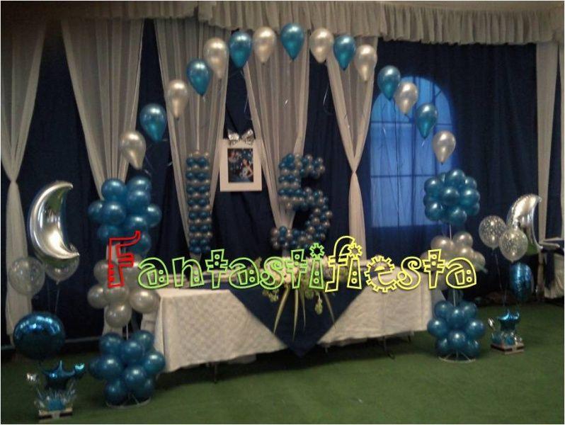 Areglos de xv anos decoraci n con globos de esos for Decoracion de 15 anos con globos