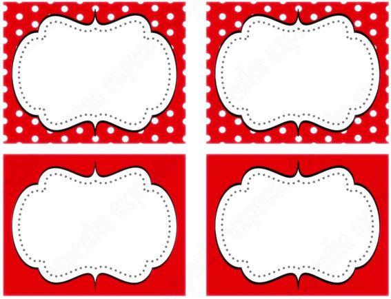 Minnie Mouse Party. cosas gratis para imprimir a sí mismos ...