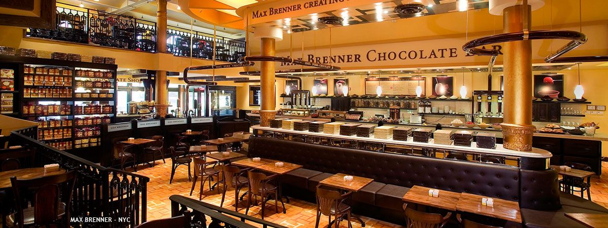 Max Brenner S In Nyc If You Re A Chocolate Lover It S A Must Go To