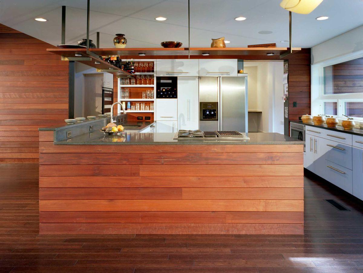 Interior japanese kitchen with modern designs ultramodern for Modern japanese kitchen design by toyo kitchen