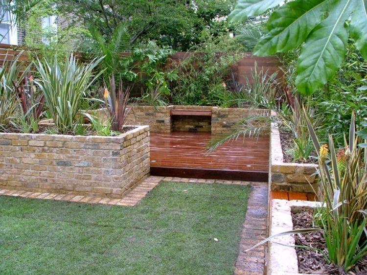 Idee Per Il Giardino Piccolo : Idee per un piccolo giardino u il design con poco spazio