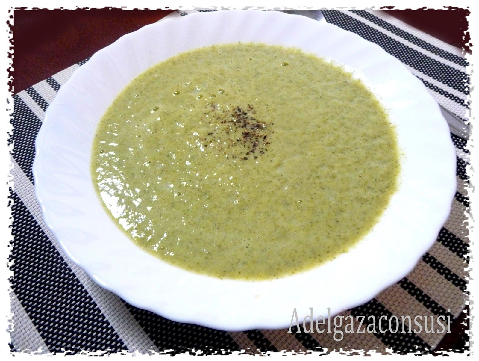 Crema de verduras receta light