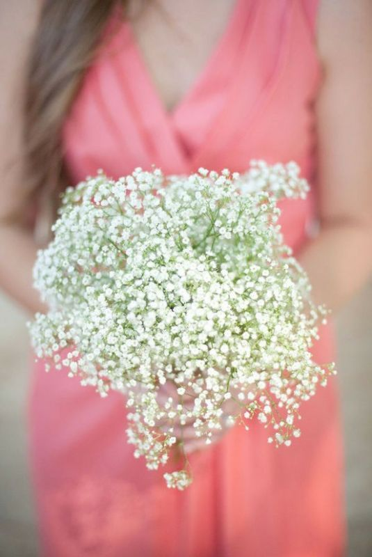 Baby S Breath Bouquet Like Charlotte On Satc
