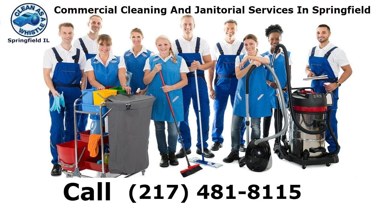 Commercial Cleaning Company Clean As A Whistle Llc In Springfield