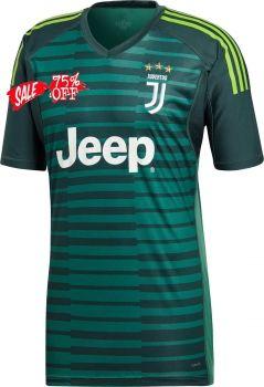 600013936 2018-19 Cheap Goalie Jersey Juventus Replica Green Shirt  CFC311 ...