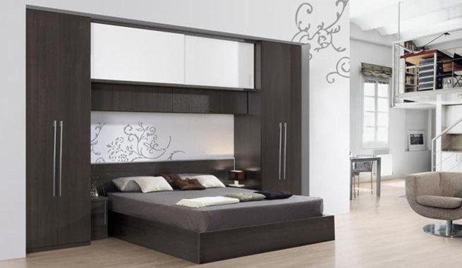 camas puente para ahorrar espacio en el dormitorio