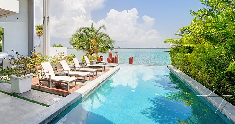 Miami Luxury Home Pool Bayfront Beach Villa Travel