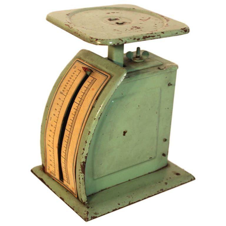 Green Bauhaus Sheet Metal Vintage Letter Scale By Marianne Brandt Germany In 2020 Bauhaus Vintage Metal Desk Vintage Lettering