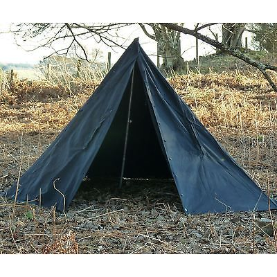 Polish Army Tent Tipi Lavvu Shelter Canvas Two Man Surplus Military Poncho Black  sc 1 st  Pinterest & Polish Army Tent Tipi Lavvu Shelter Canvas Two Man Surplus ...