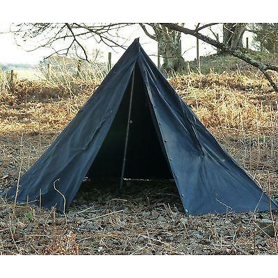 timeless design 3e12b 6232e Polish-Army-Tent-Tipi-Lavvu-Shelter-Canvas-Two-Man-Surplus ...