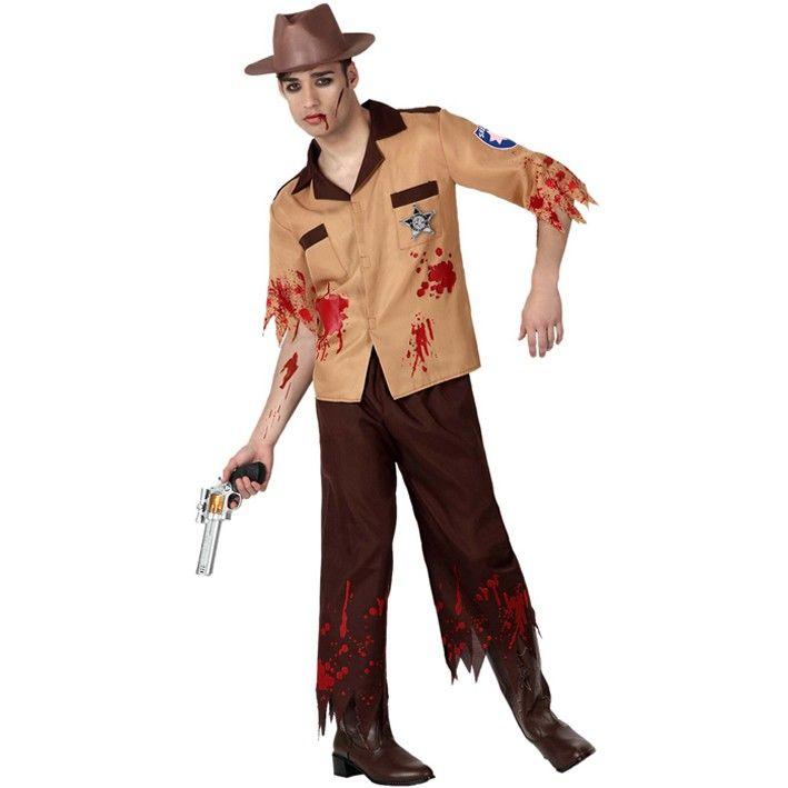 Disfraz de policía zombie #disfraces #halloween Halloween Pinterest - imagenes de disfraces de halloween