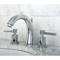 Concord Widespread Chrome-Finish Brass Bathroom Faucet   Bathroom ...