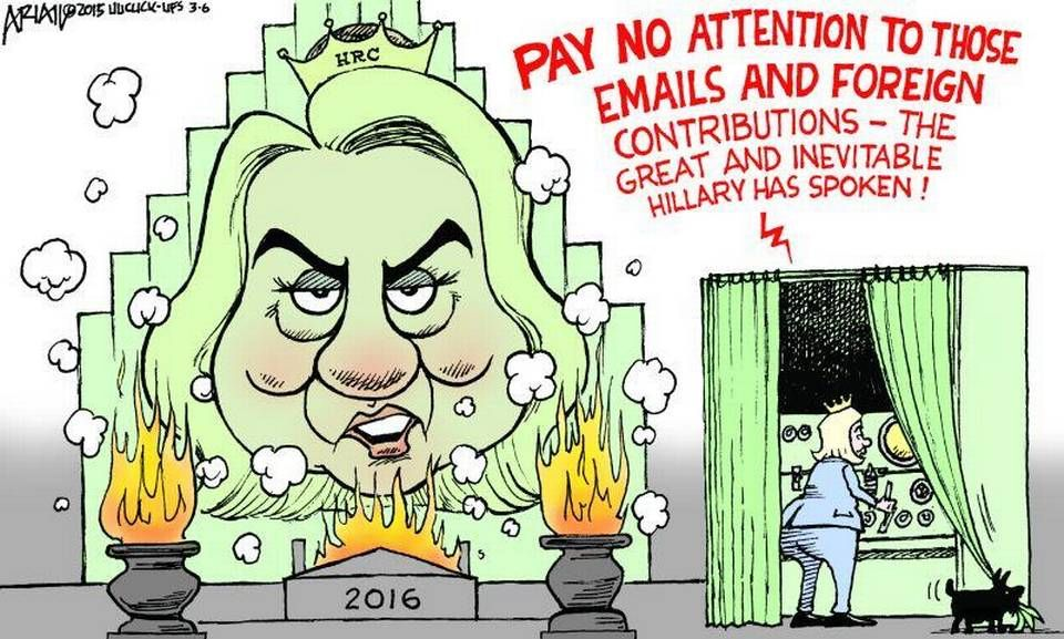 Image result for Hillary CARTOON