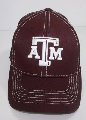 wholesale dealer eaae1 97104 TEXAS-A-M-Fitted-Cap-Aggies-Size-L-XL-Top-of-the-World-One-Fit-Baseball-Hat