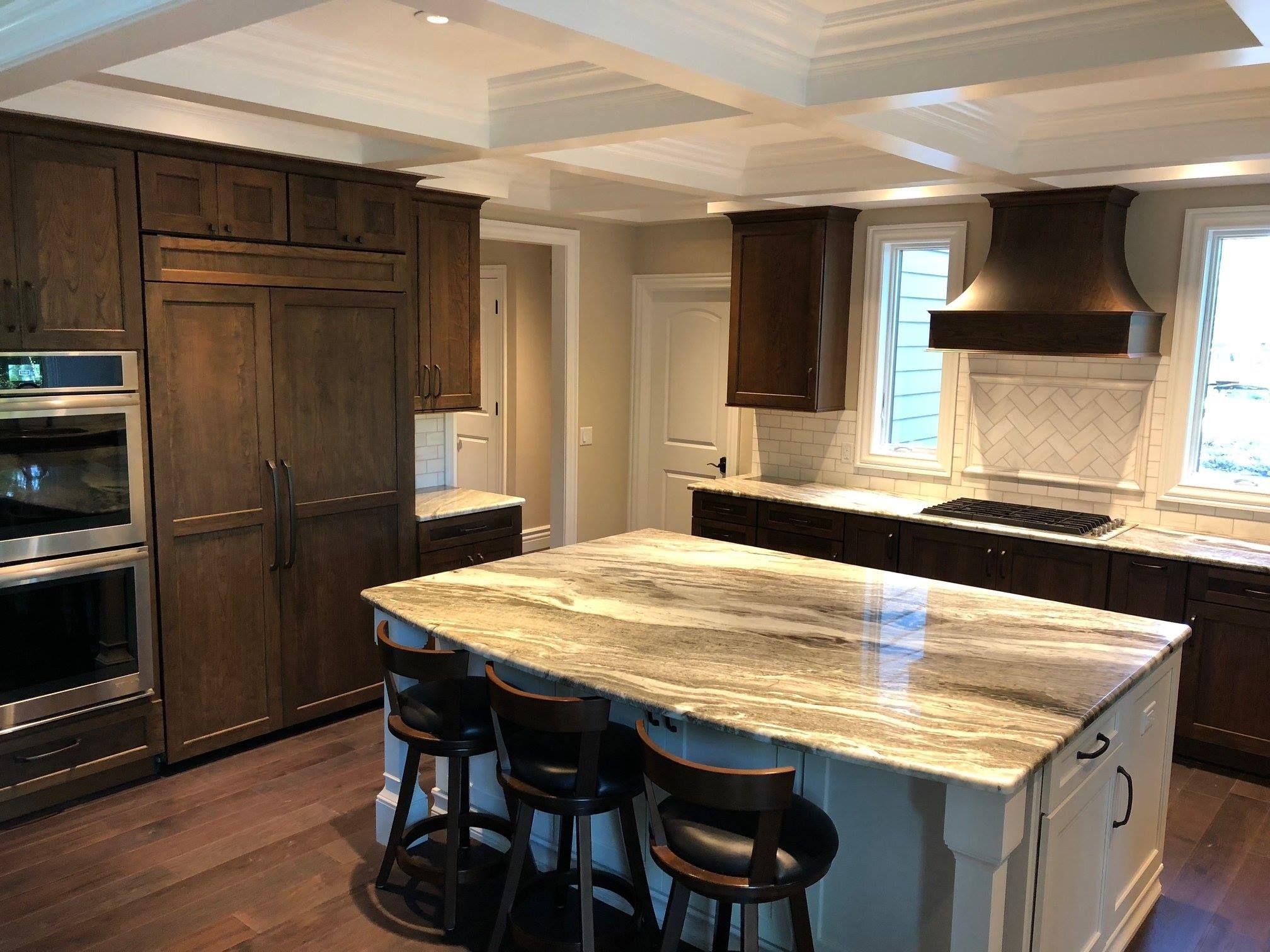 Granite Fantasy Brown Credit Blue Creek Cabinets Fantasy Brown