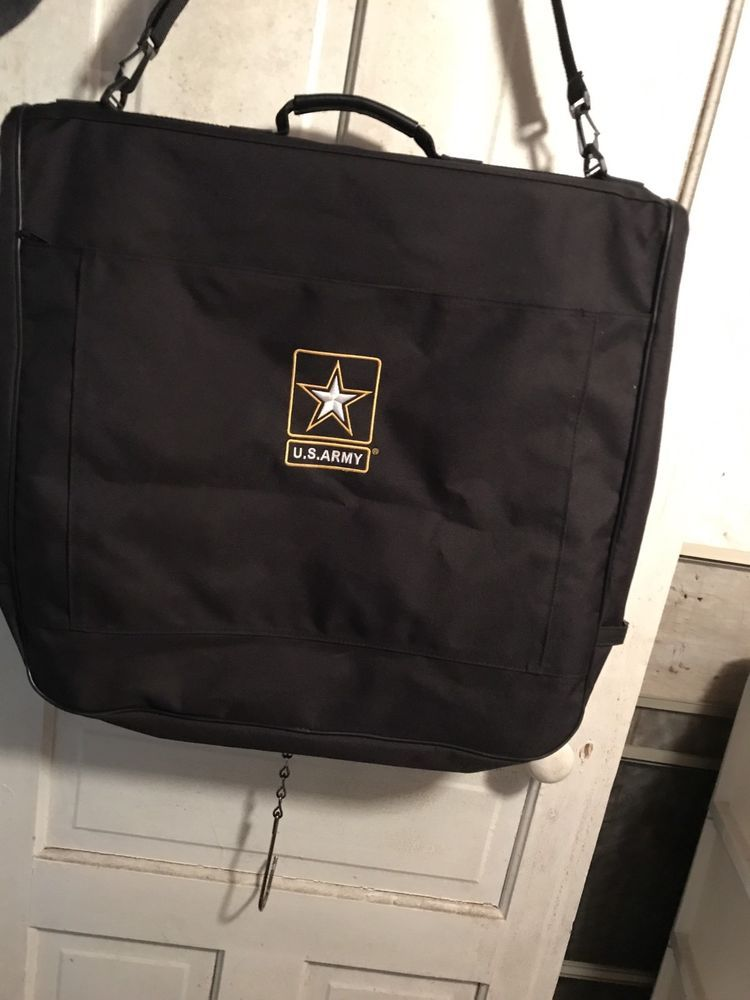 U.S.Army Suitcase Luggage Embroidered Garment Bag NWOT