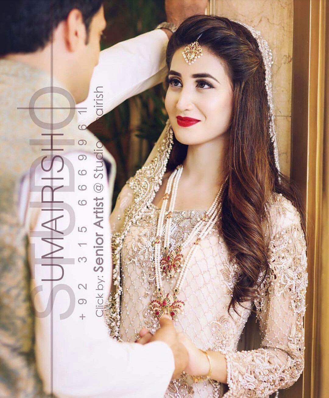 nikkah | makeup in 2019 | pakistani bridal hairstyles