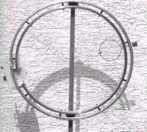 Магнитная антенна из... велосипедного обода