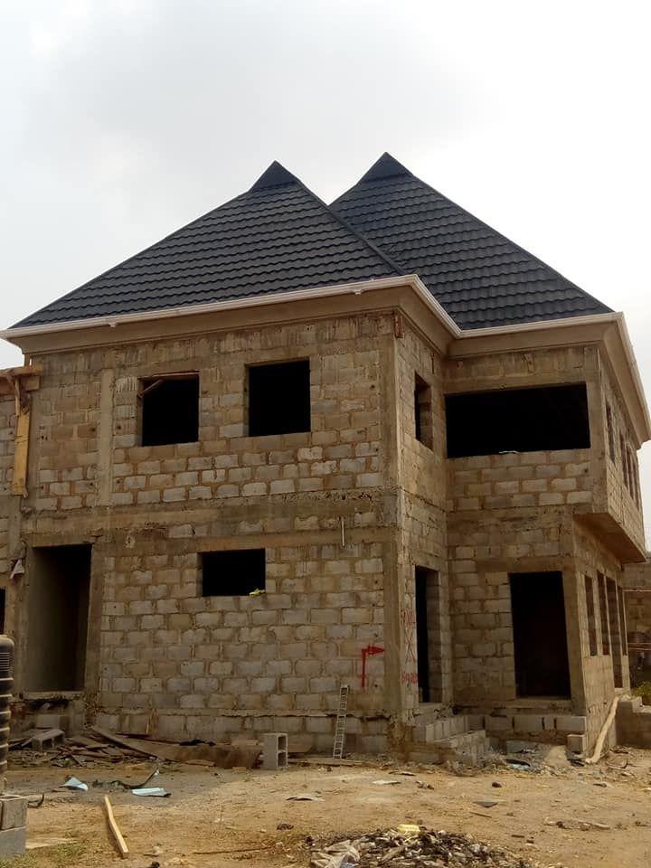 Stone Coated Metal Roofing Sheets Onitsha Lagos Enugu Nigeria Abuja In 2020 Sheet Metal Roofing Zinc Roof Metal Roof