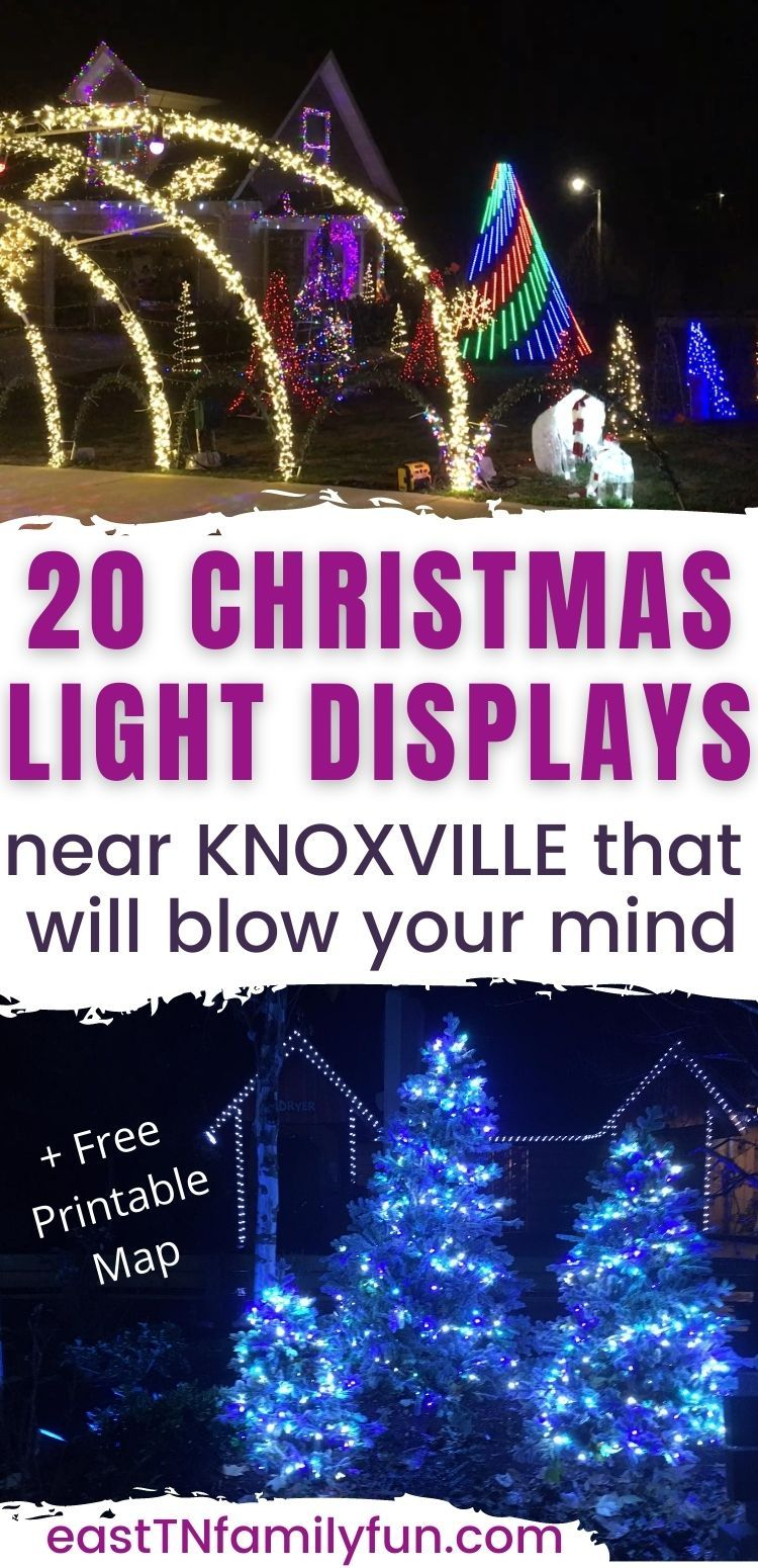20 Knoxville Christmas Lights Displays In 2020 Tennessee Christmas Christmas In Nashville Christmas Light Displays