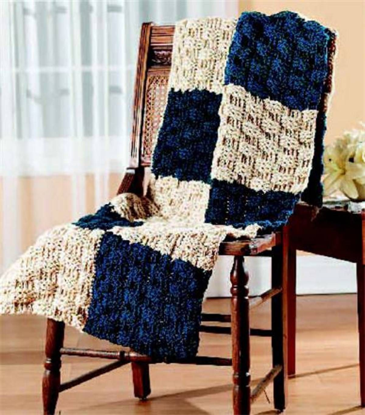 Free pattern from joann create this cozy basketweave afghan free pattern from joann create this cozy basketweave afghan bankloansurffo Images