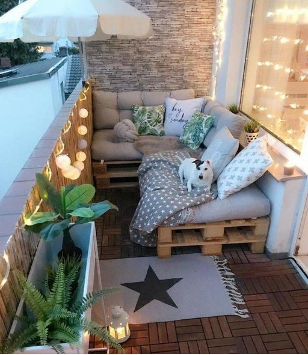 Pin by Linda Grunewald on Design ideas  Small balcony decor