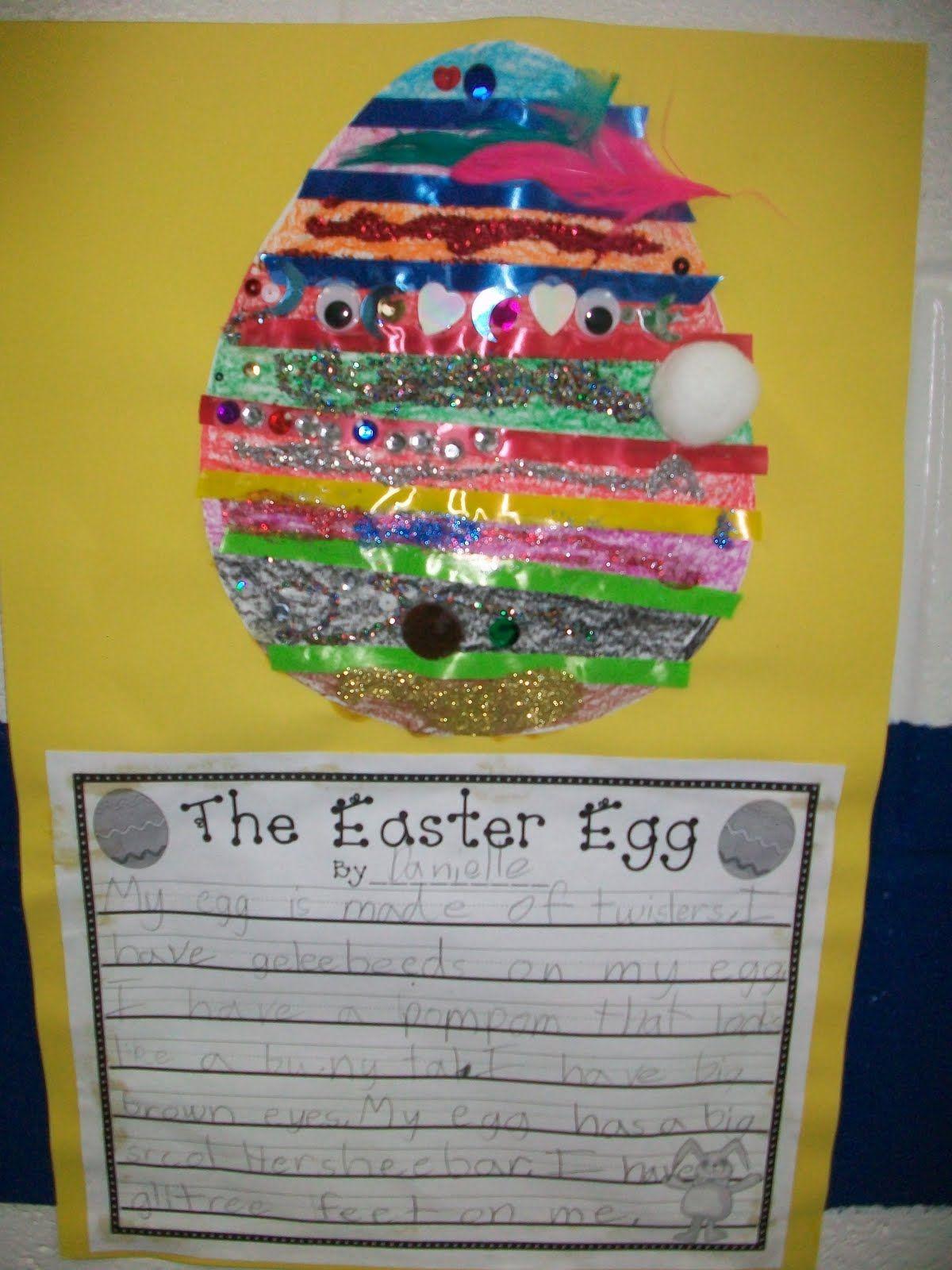 Based On The Easter Egg By Jan Brett Easter Easter