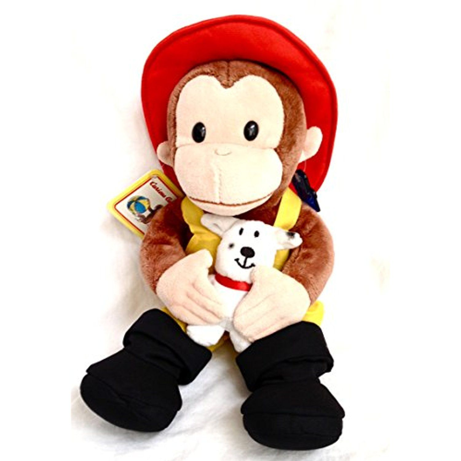 Applause Curious George Fireman 11 Plush Monkey Gt Gt Gt Check