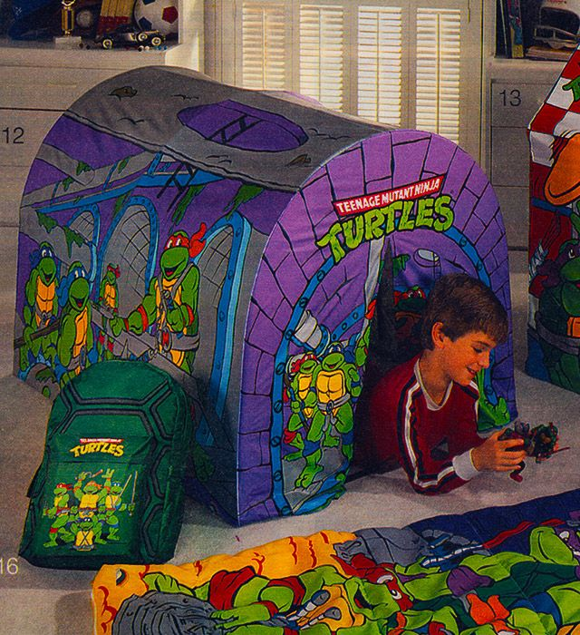 Teenage Mutant Ninja Turtles Play Tent ad (1991)  sc 1 st  Pinterest & Teenage Mutant Ninja Turtles Play Tent ad (1991) | Nostalgia ...