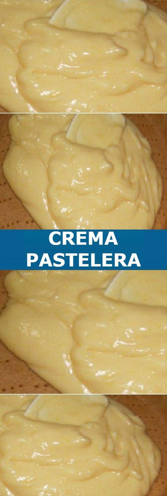 Como Hacer La Mejor Crema Pastelera Facil Y Deliciosa Pastelera Crema Pastelera Recetas De Tartas Y Pasteles
