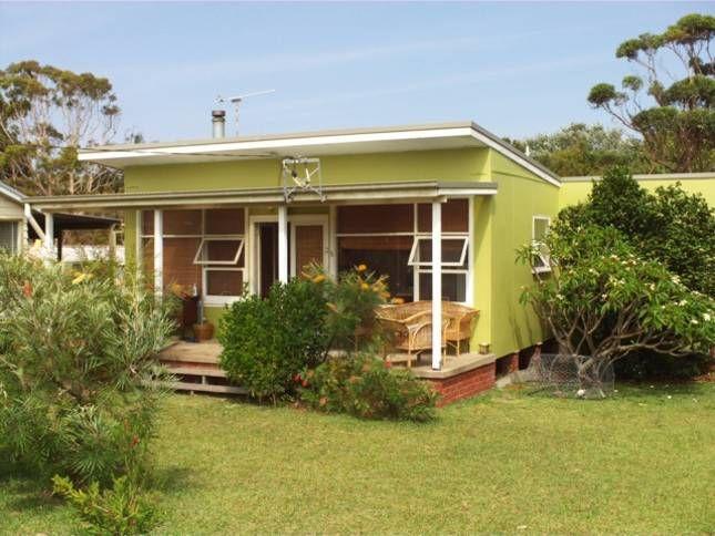 retro beach house - 1940s Beach House Plans