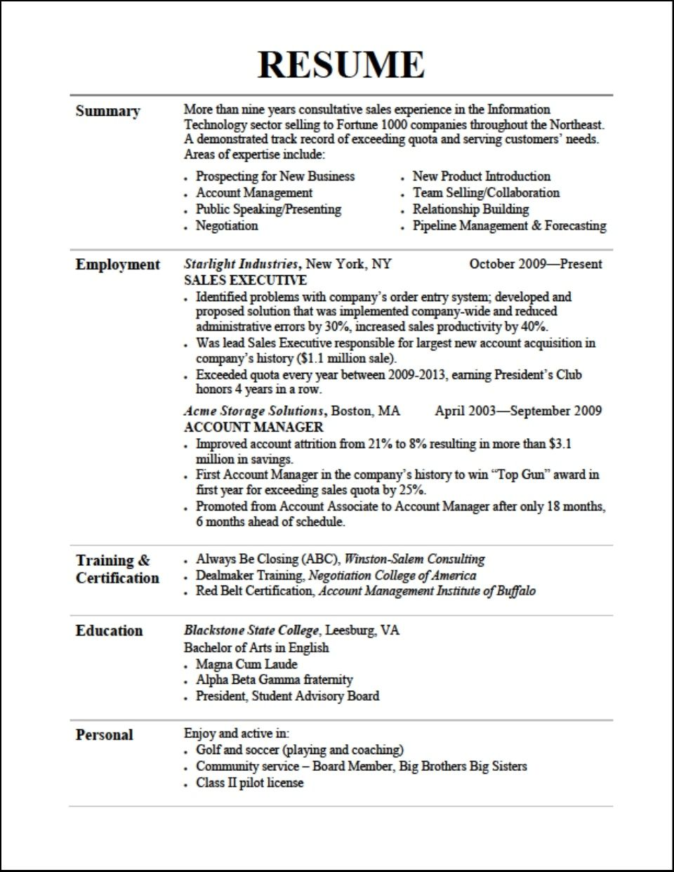 A Resume Title Examples in 2020 Job resume examples