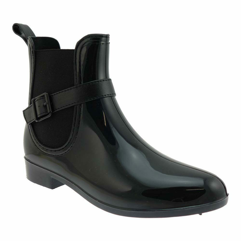 NEU Rieker Damenschuhe Schuhe Gummi Stiefel gefüttert Winter