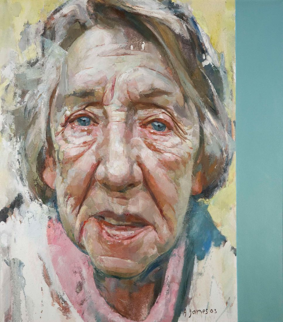 Oil Portraits | Professional Painted Portraiture | Andrew James RP ...