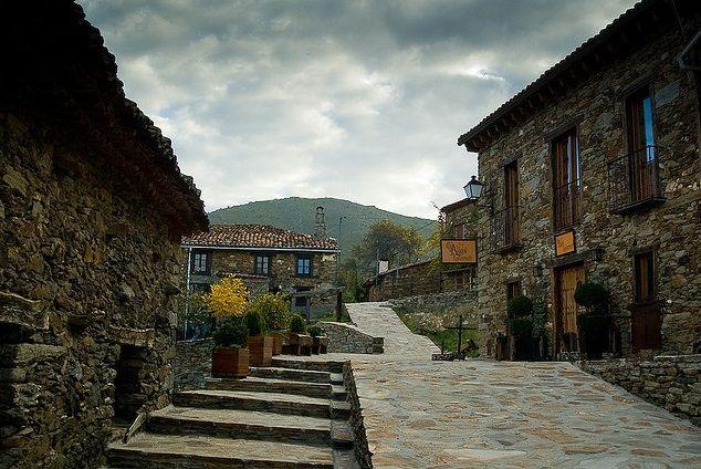 Pueblo de la hiruela perfect spots for photoshooting in - Casas gratis en pueblos de espana ...